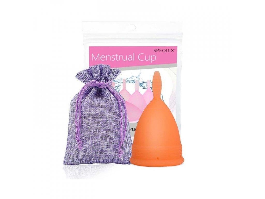 Menstruační kalíšek s Pytlíčkem: Oranžová