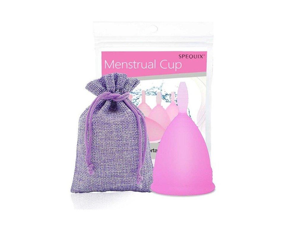 Menstruační kalíšek s Pytlíčkem: Růžová