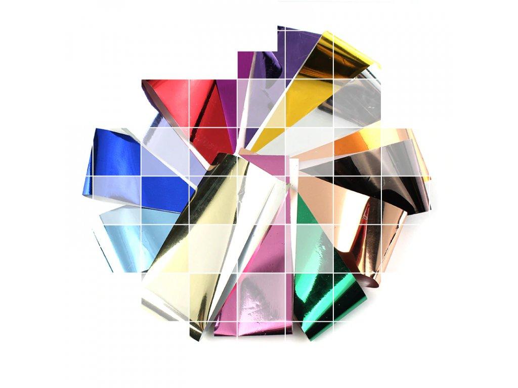 Barevné fólie - barva dle výběru