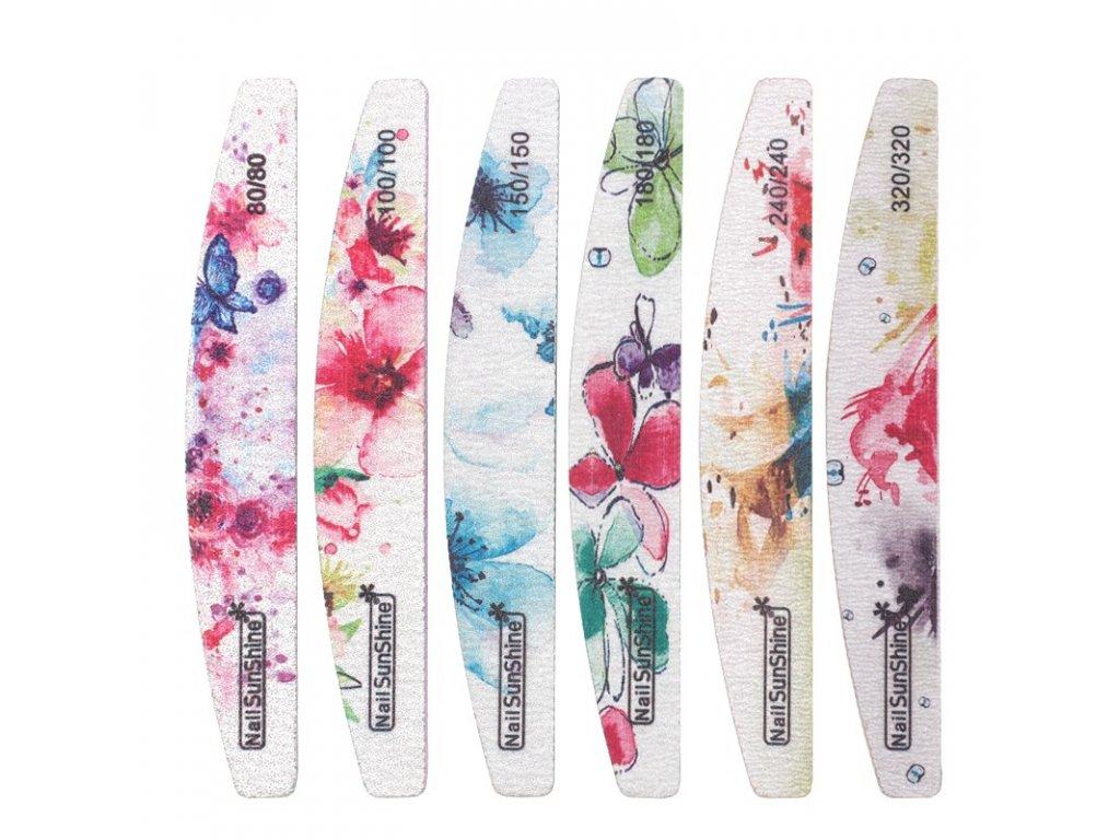 355 nailsunshine pilnik na nehty kvetovany