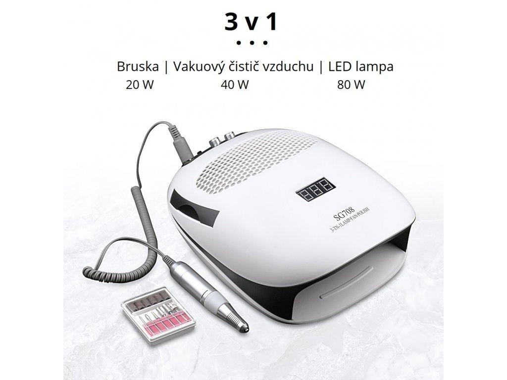 361 jewhiteny sg708 3 v 1 bruska led lampa filtr 140w