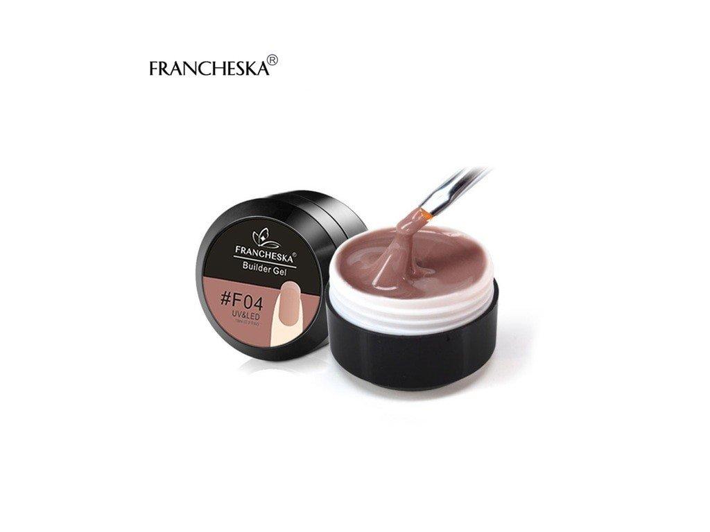 406 francheska builder gel uv gel prodluzovaci vintage pink 15ml