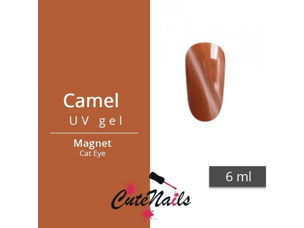 421 slygos magneticky uv gel 6ml camel