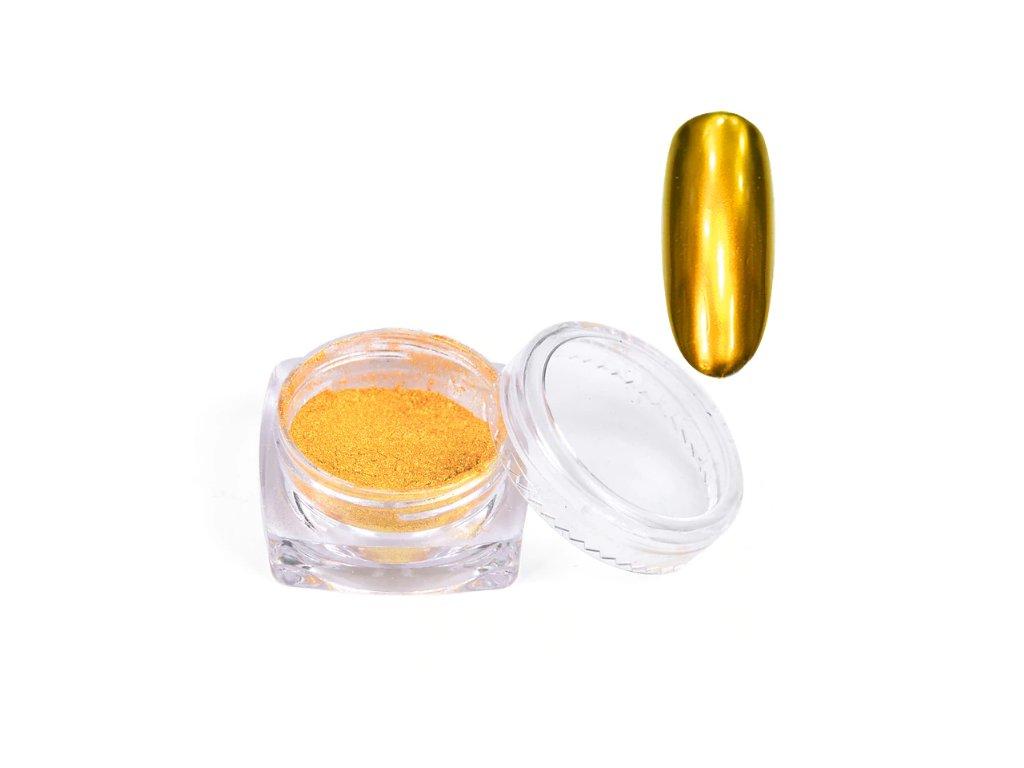 442 cutenails chromatic mirror effect pigment zlata