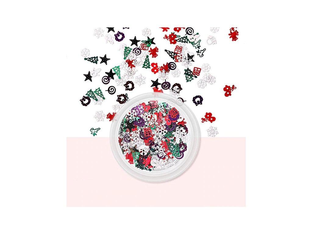 742 fabiyan vanocni dekorace na nehty