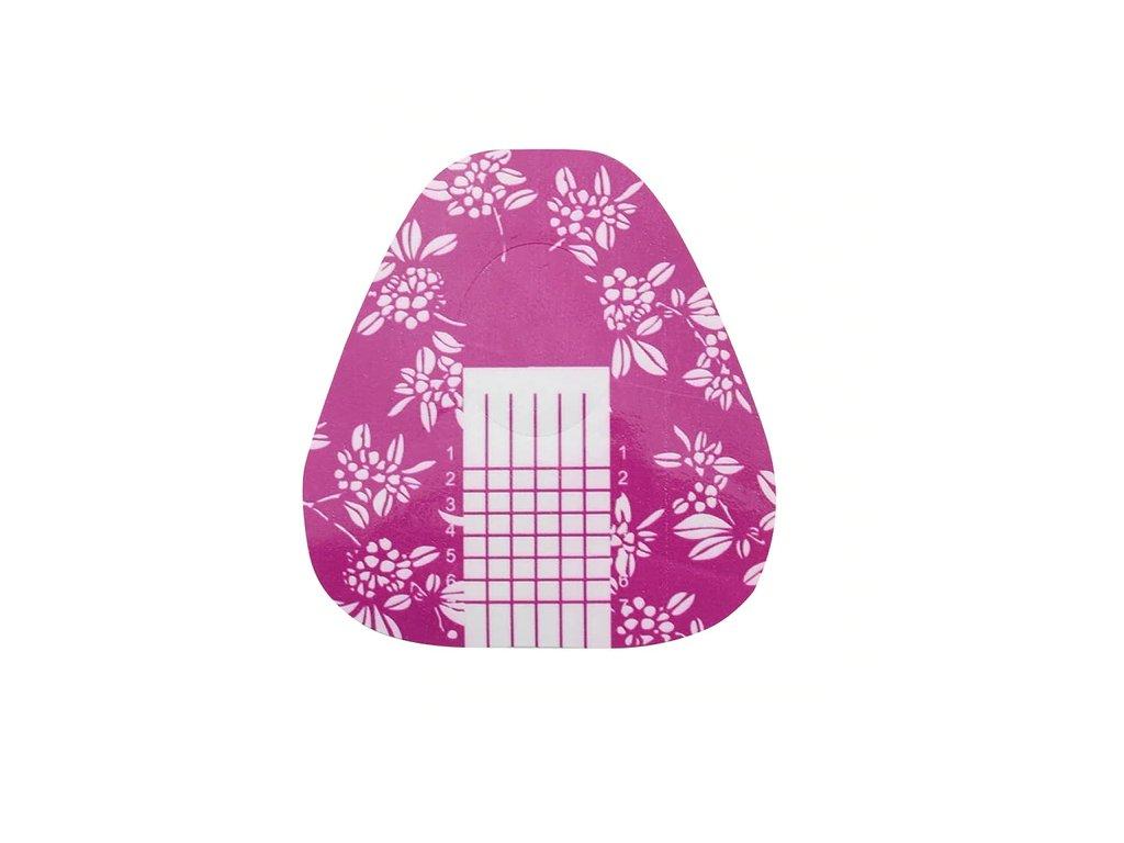 763 cutenails sablony pro modelaz nehtu kvetovane