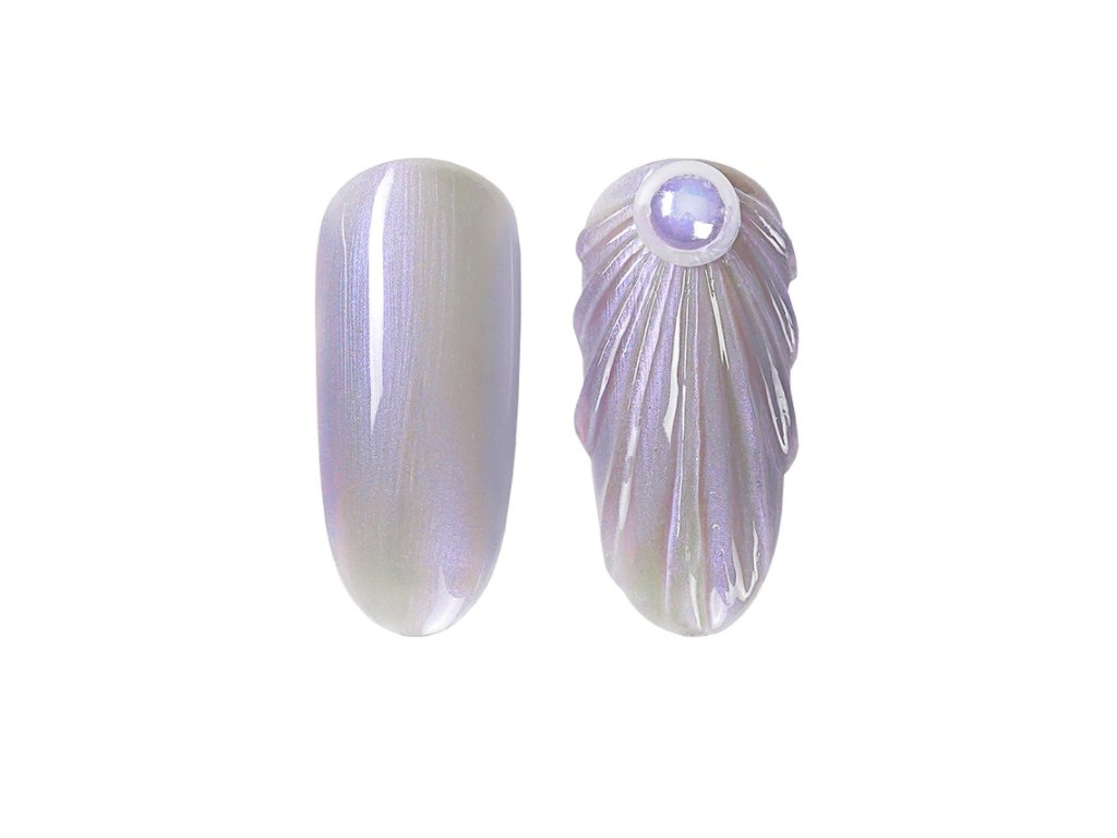 880 gdcoco uv gel pearl seashel violet seashell