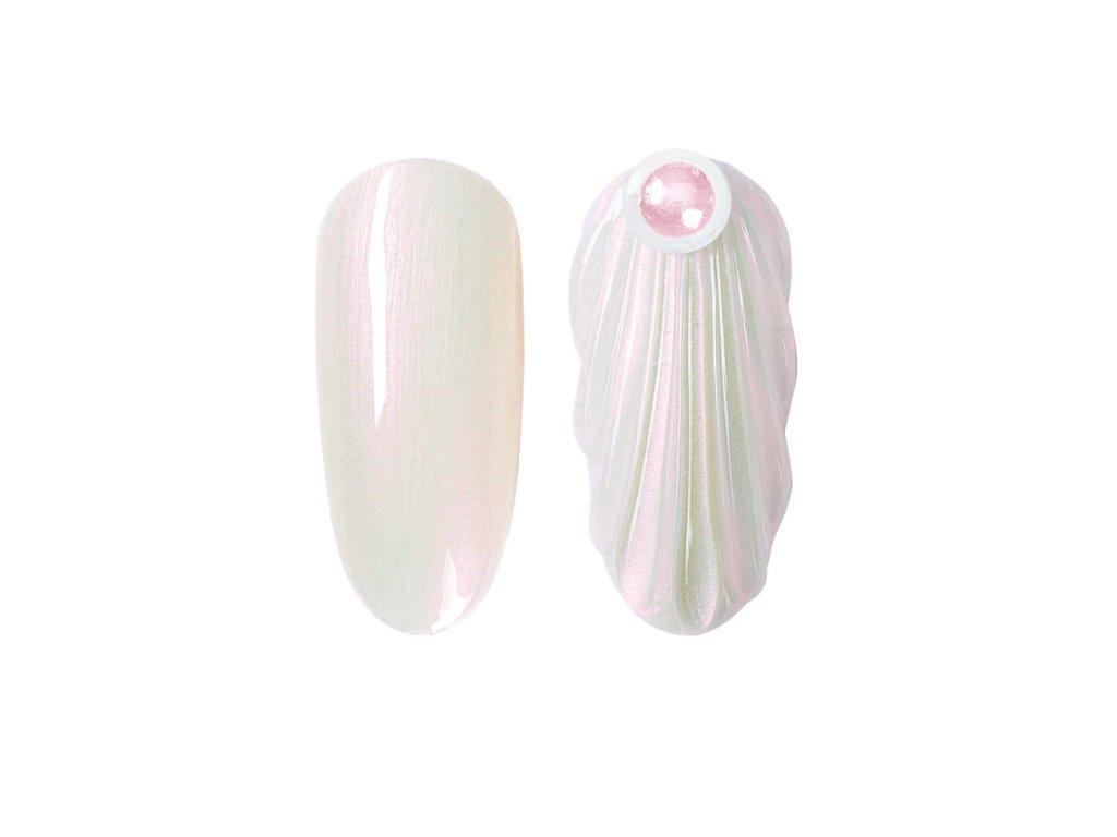 901 gdcoco uv gel pearl seashel white mermaid