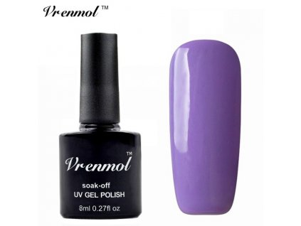 169 vrenmol uv gel 8ml milky purple