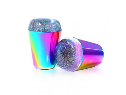 1759 full beauty silikonove razitko rainbow metal