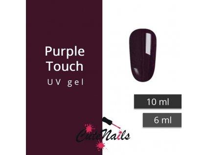 217 slygos uv gel purple touch