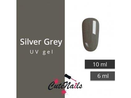 268 slygos uv gel silver grey