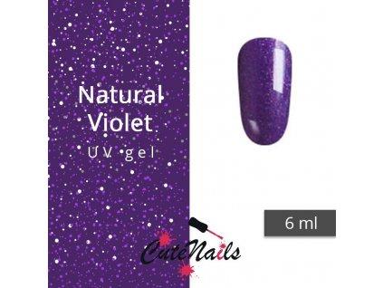 289 slygos uv gel trpytivy 6ml natural violet