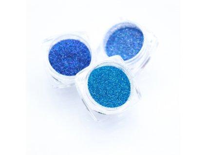 Třpytky - blue