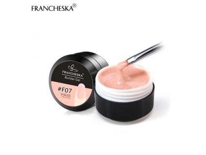 412 francheska builder gel uv gel prodluzovaci light apricot 15ml