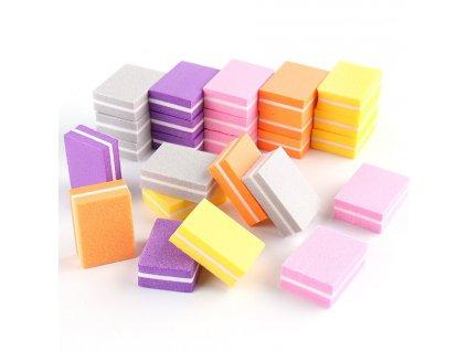 505 nailsunshine maly penovy pilnik na nehty ruzne barvy 1 2 5 kusu