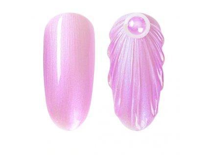 898 gdcoco uv gel pearl seashel pink mermaid