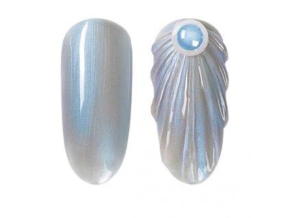 910 gdcoco uv gel pearl seashel blue seashell