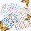 2167 cutenails samolepky holografic butterfly