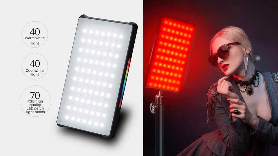 Predstavujeme nové  Yongnuo RGB LED svetlo