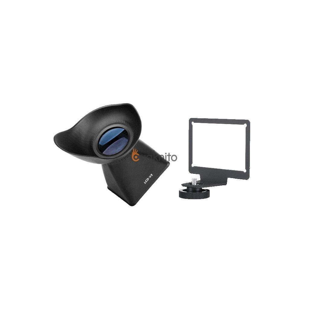 Hľadáčik LCD so zväčšením 2,8 x pre Canon 650D, 600D, 60D
