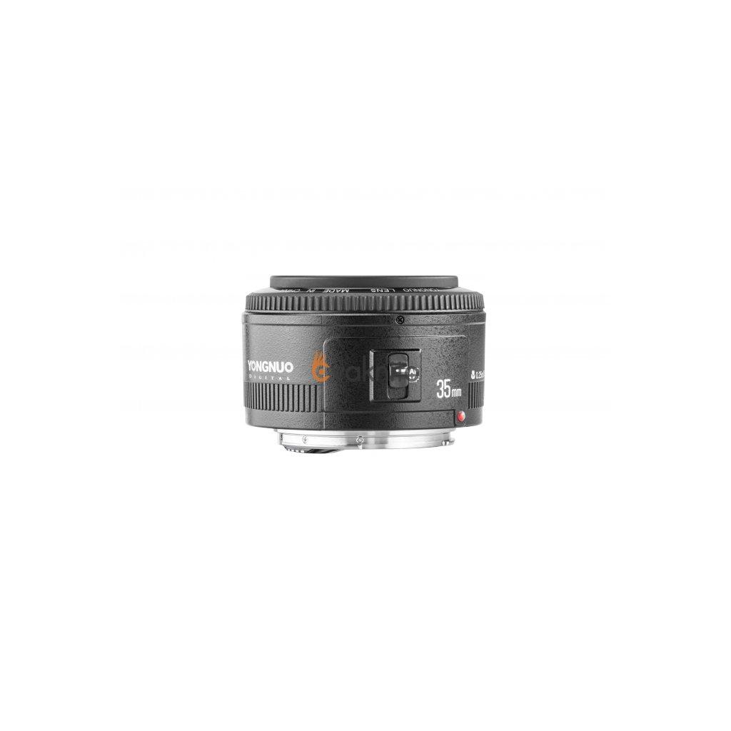 Objektív Yongnuo YN 35mm f / 2.0 pre Canon EF
