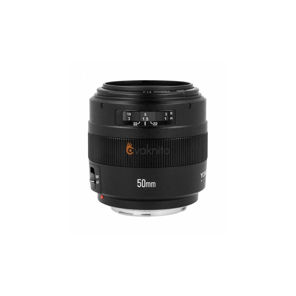 Objektív Yongnuo YN 50mm f / 1.4 pre Canon EF