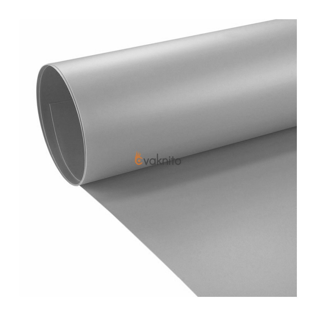 Profesionálne PVC fotopozadie 60x130cm - šedé