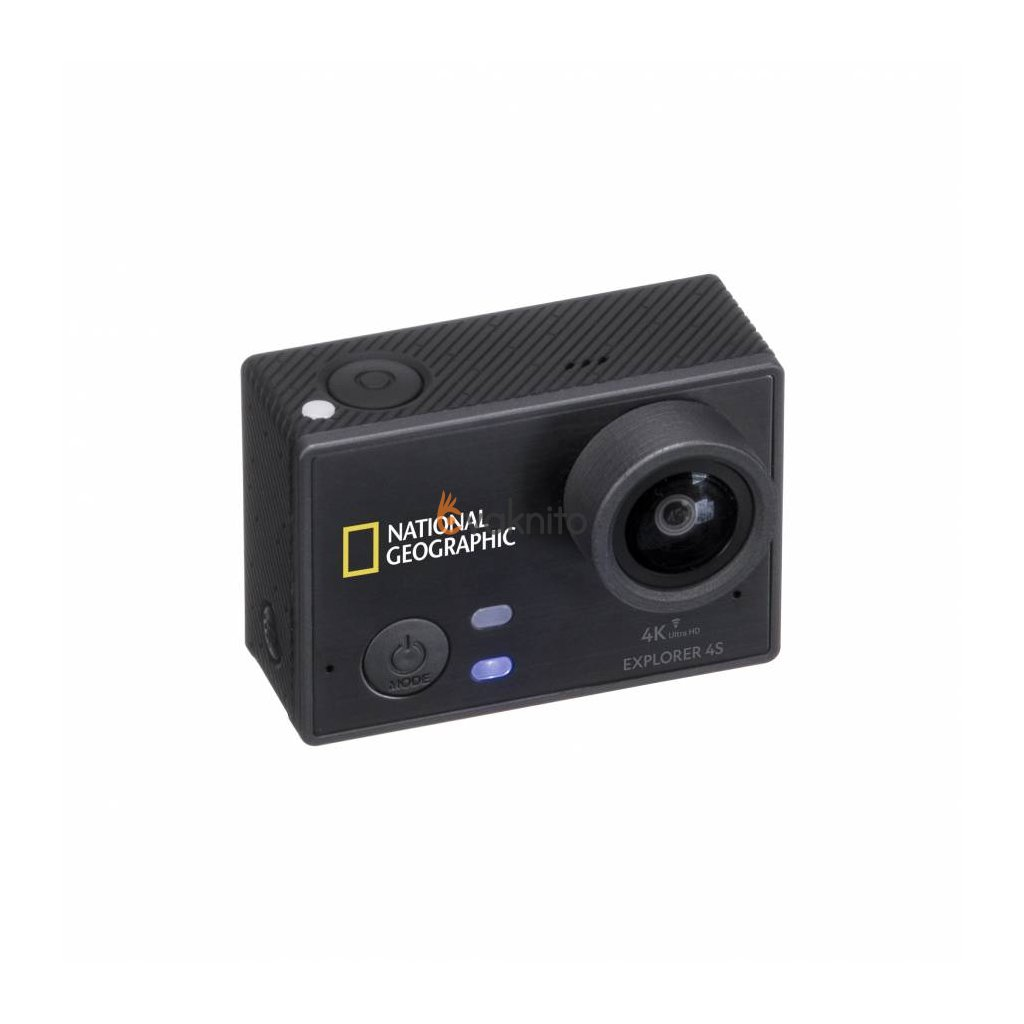 Športová kamera Explorer 4S National Geographic - 4K Ultra-HD 30fps WLAN