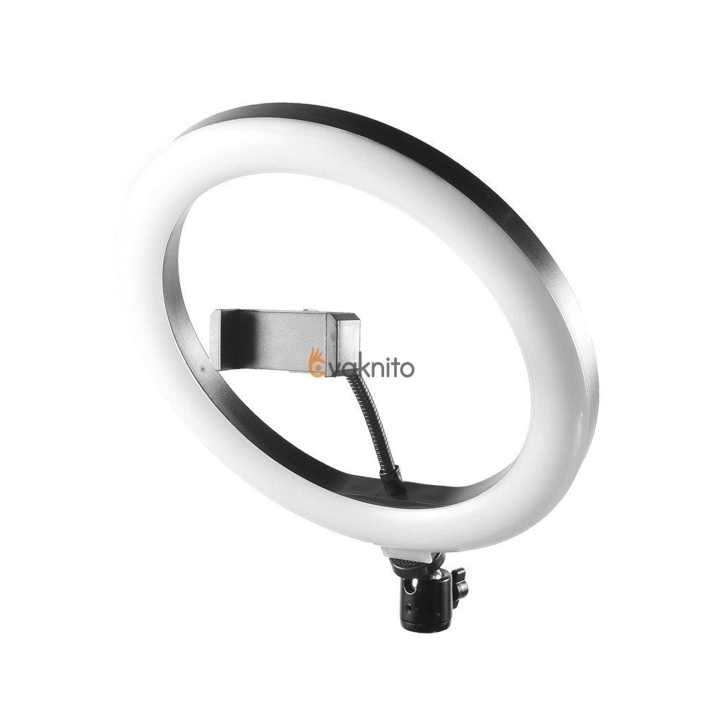 Kruhové LED svetlo 40W na USB, so stmievačomring light led usb dimmable r160 (3)