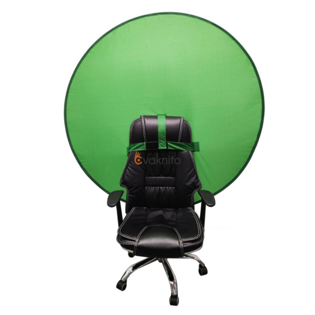 Kľučovacie fotopozadie na stoličku 130cm (green screen)