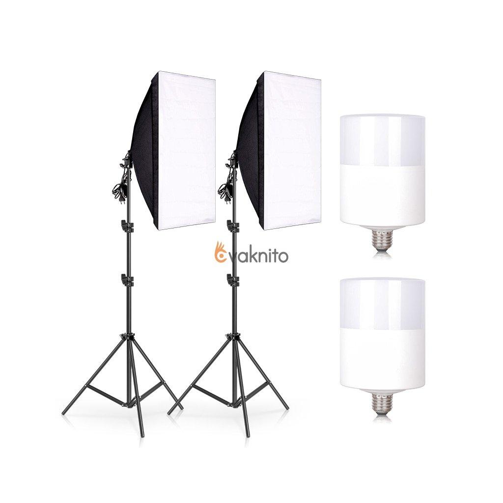 2x LED svetlá 30W + 2x  statívy