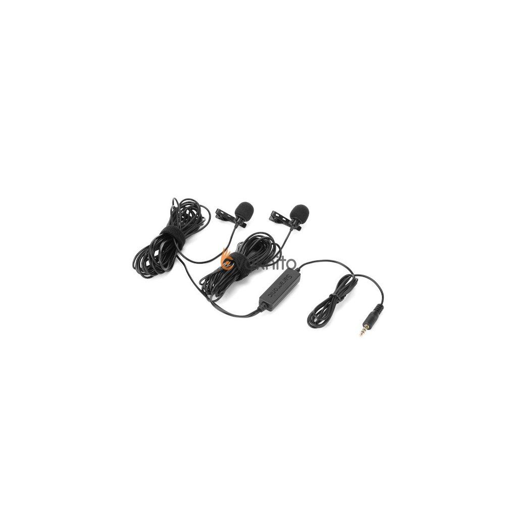 Saramonic LavMicro 2M - duálny klopový mikrofón