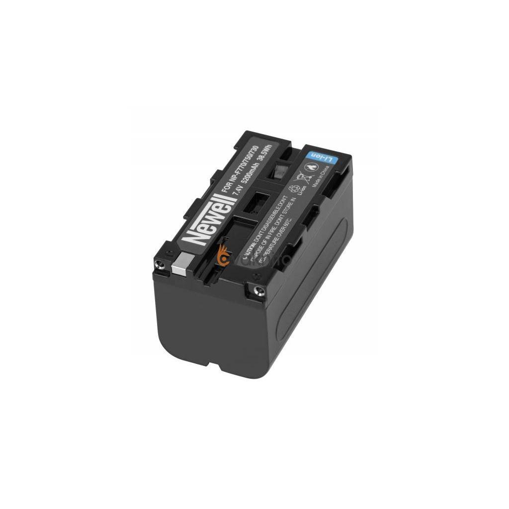 Batéria Newell NP F770 , 5200mAh 7,4V pre fotoaparáty SONY