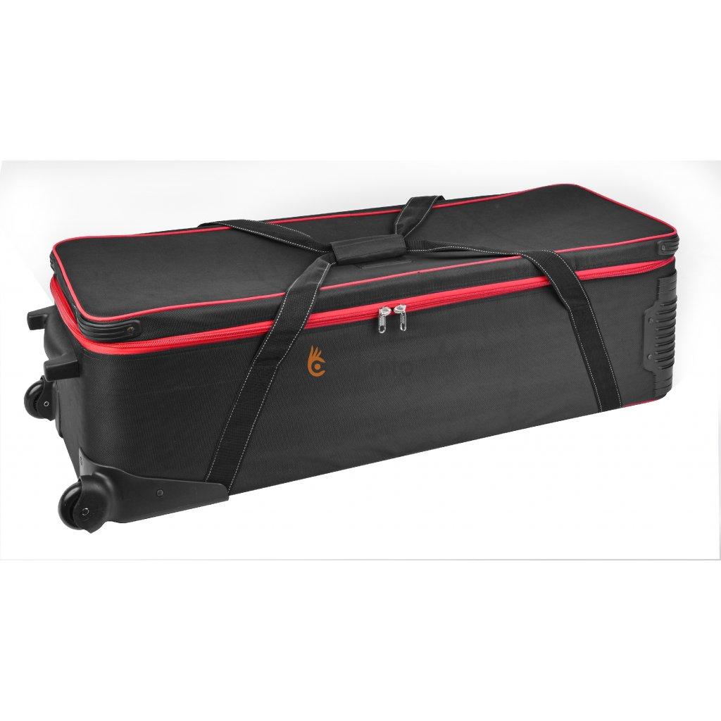 Veľký prenosný kufor s kolesami BRESSER BR-B103