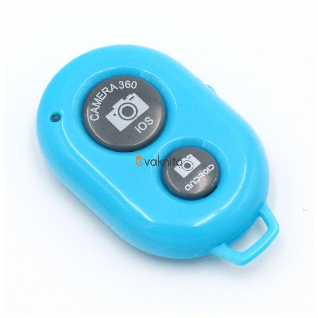 Univerzálny diaľkový ovládač s bluetooth pre Android a iOS modrý