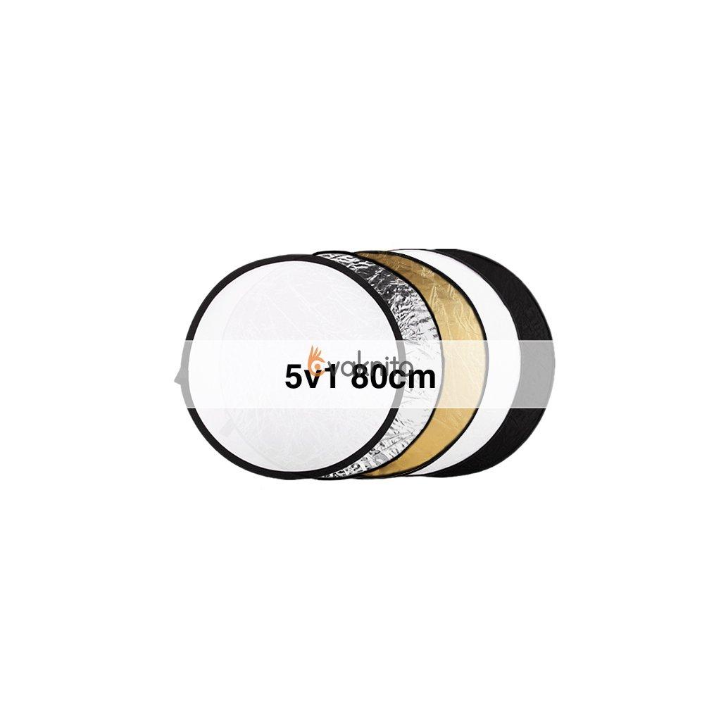 Odrazová doska 5v1, 80 cm okrúhla