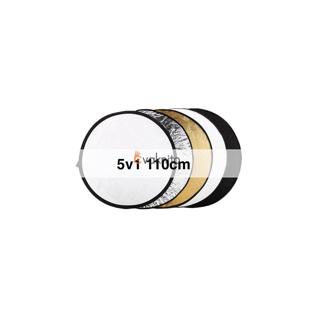 Skladacia odrazová doska 5v1 110 cm