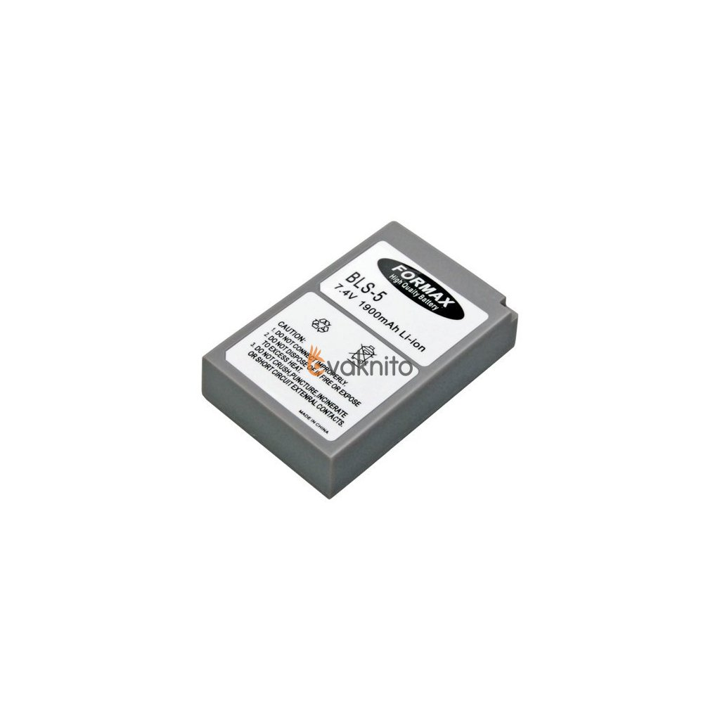 Batéria BLS5 pre fotoaparáty OLYMPUS 1900mAh