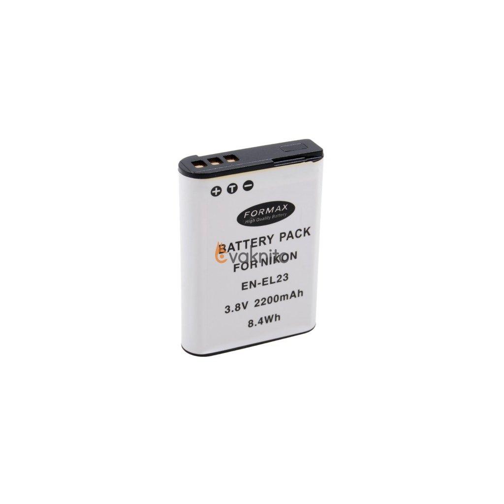 7397ae75d Batéria EN-EL23 2200mAh pre fotoaparáty Nikon - Cvaknito.sk