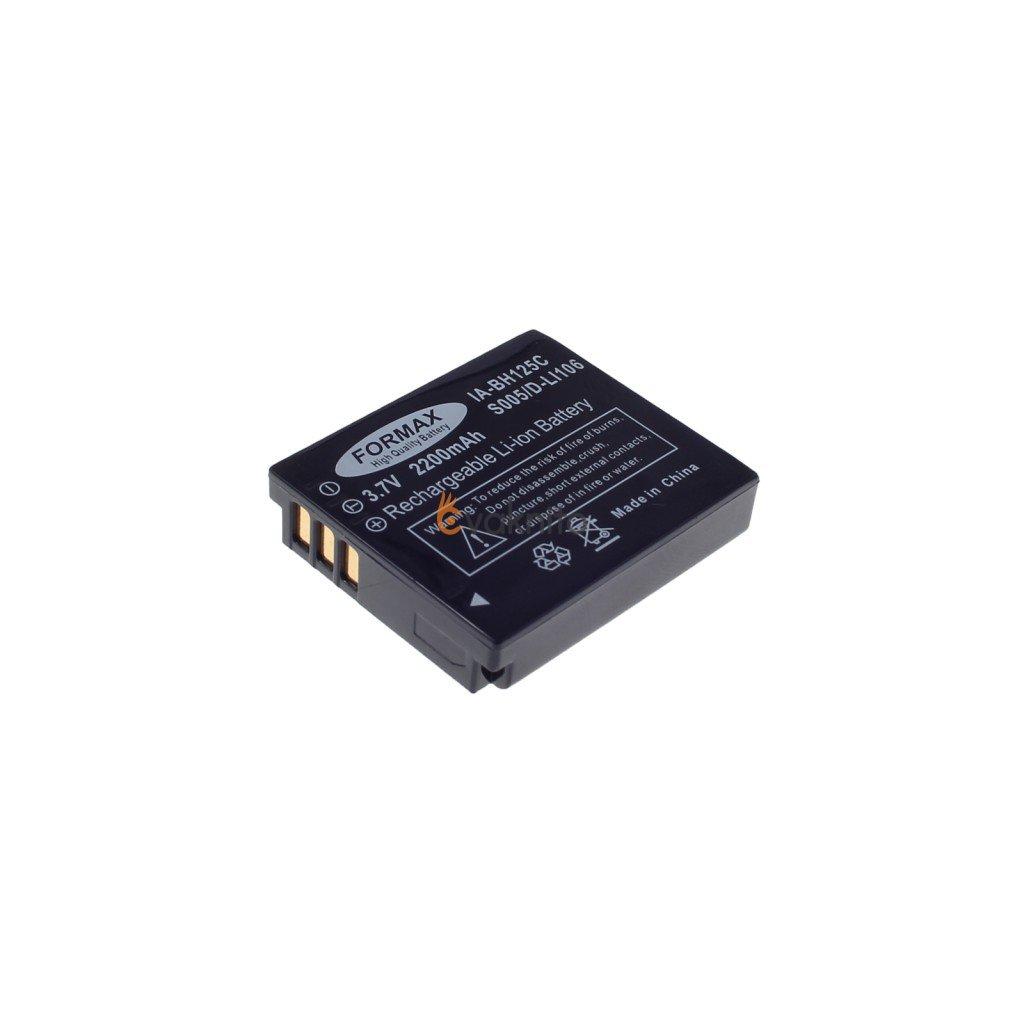 Batéria CGA-S005 s kapacitou 2200 mAh pre fotoaparáty Panasonic Lumix DMC: FX10, FX12