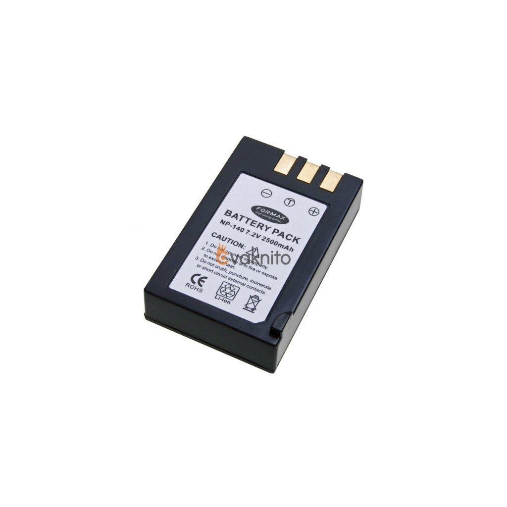 Batéria NP-140 s kapacitou 2500mAh pre fotoaparáty Fuji FinePix S100fs, S200EXR