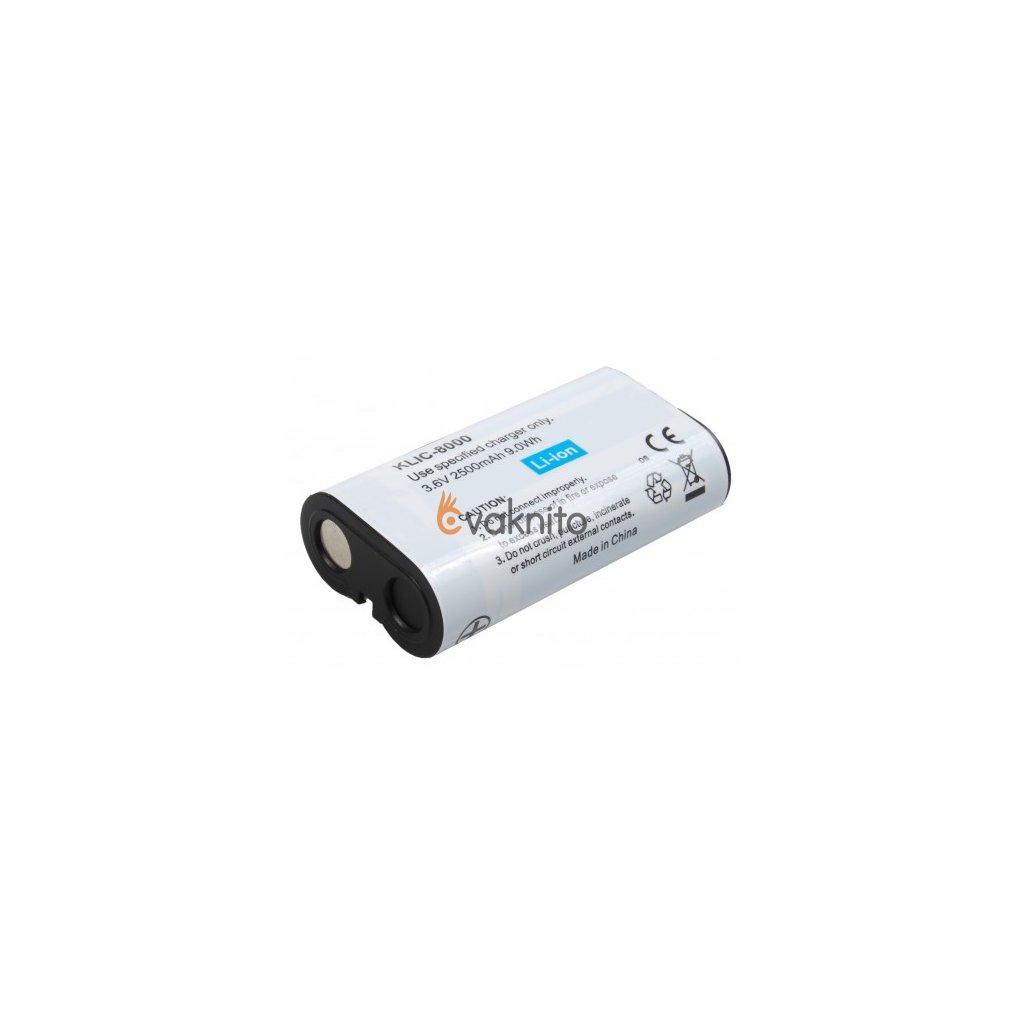 Náhrada batérie KLIC-8000 pre fotoaparáty Kodak