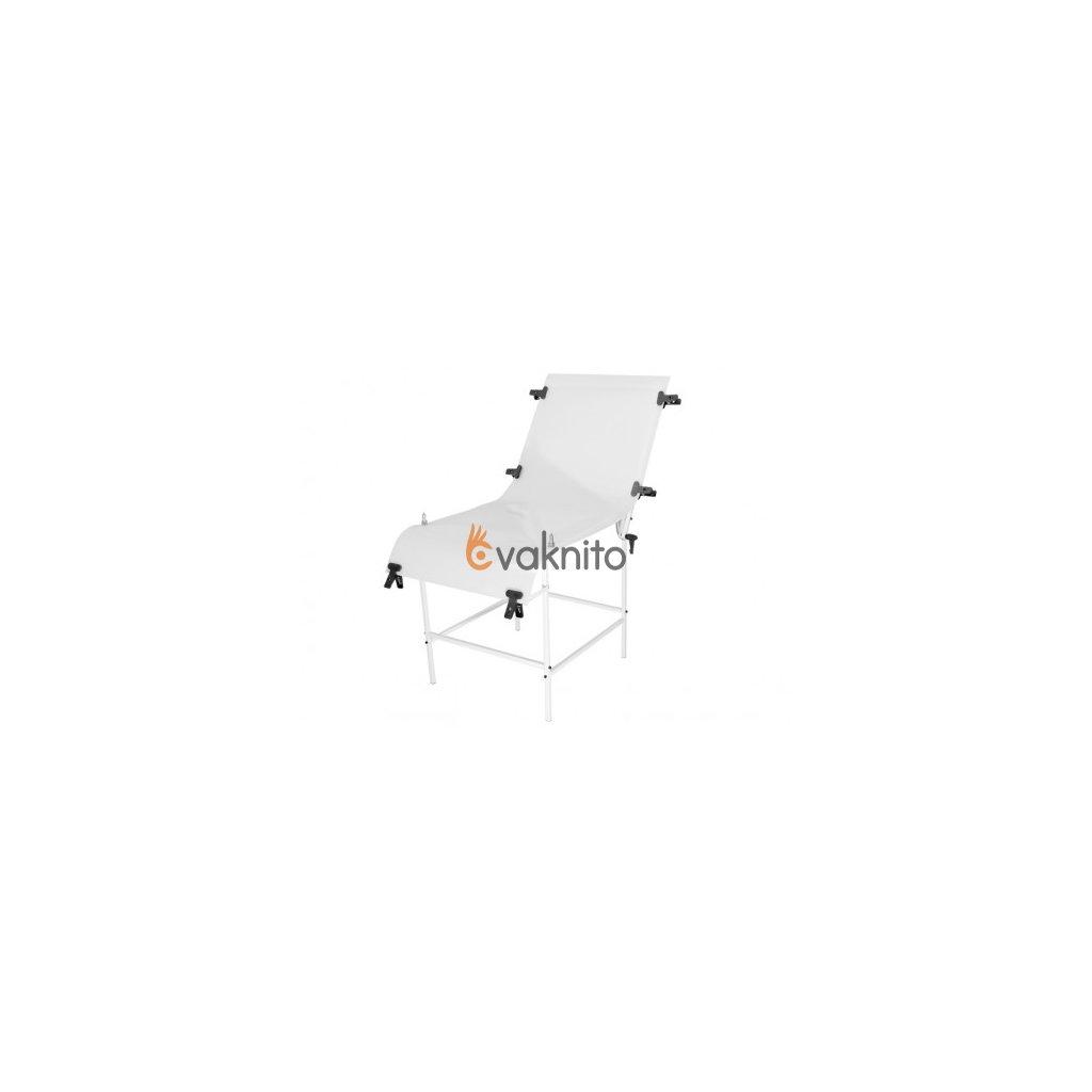 Fotografický stôl 60x130 cm - oceľ