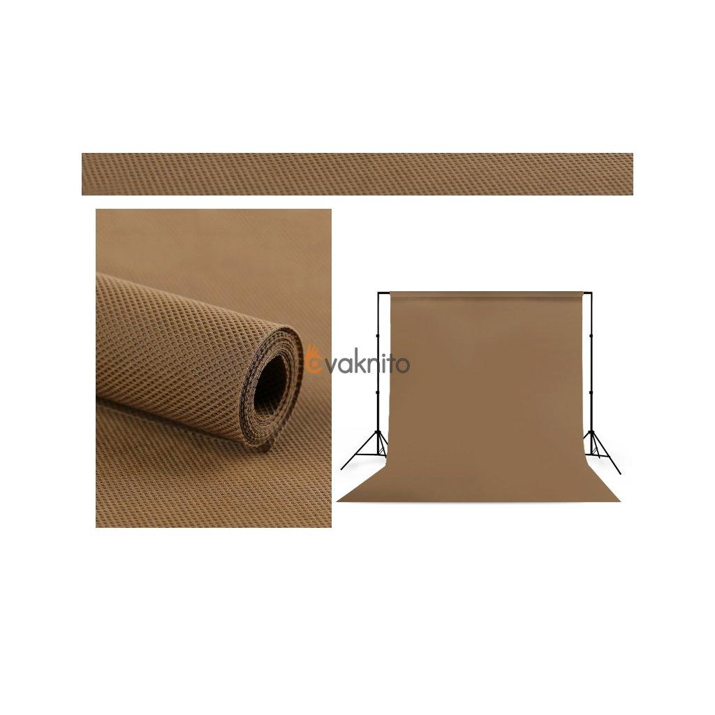 Polypropylenové pozadie 1,6 x 5m hnedé