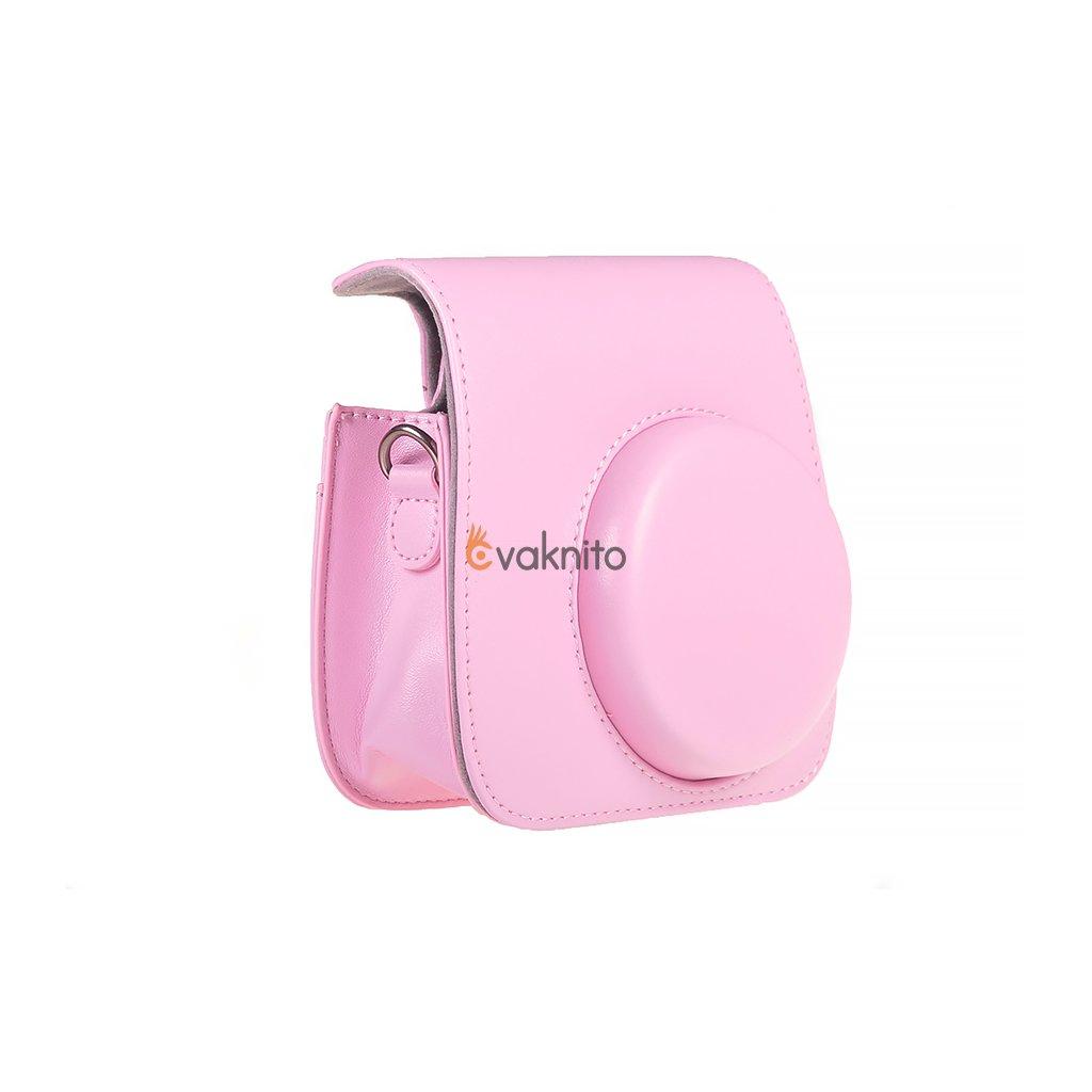 Retro puzdro pre fotoaparáty INSTAX Mini 8 9 - farba ružová