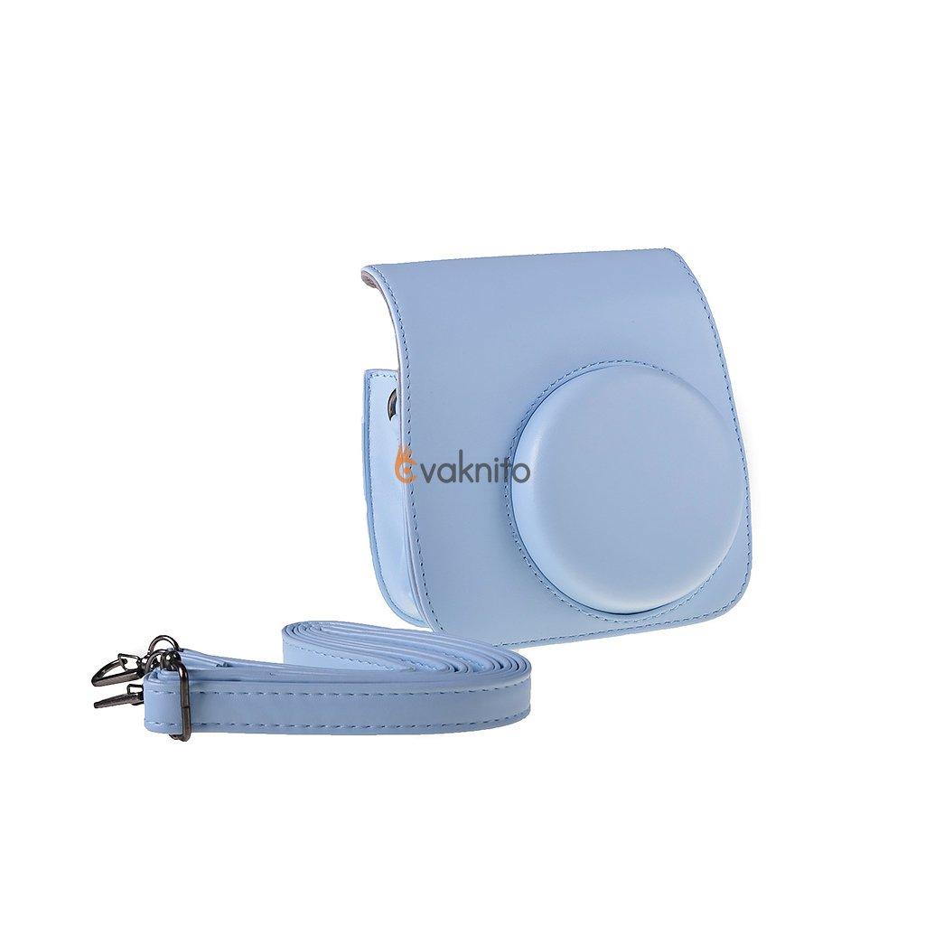 Retro puzdro pre fotoaparáty INSTAX Mini 8 9 - farba modrá