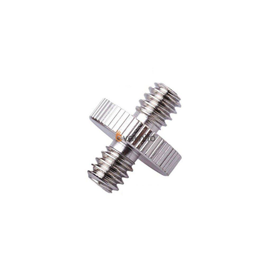"""Obojstranný skrutkový adaptér Spigot s 2 výstupnými závitmi 1/4"""""""