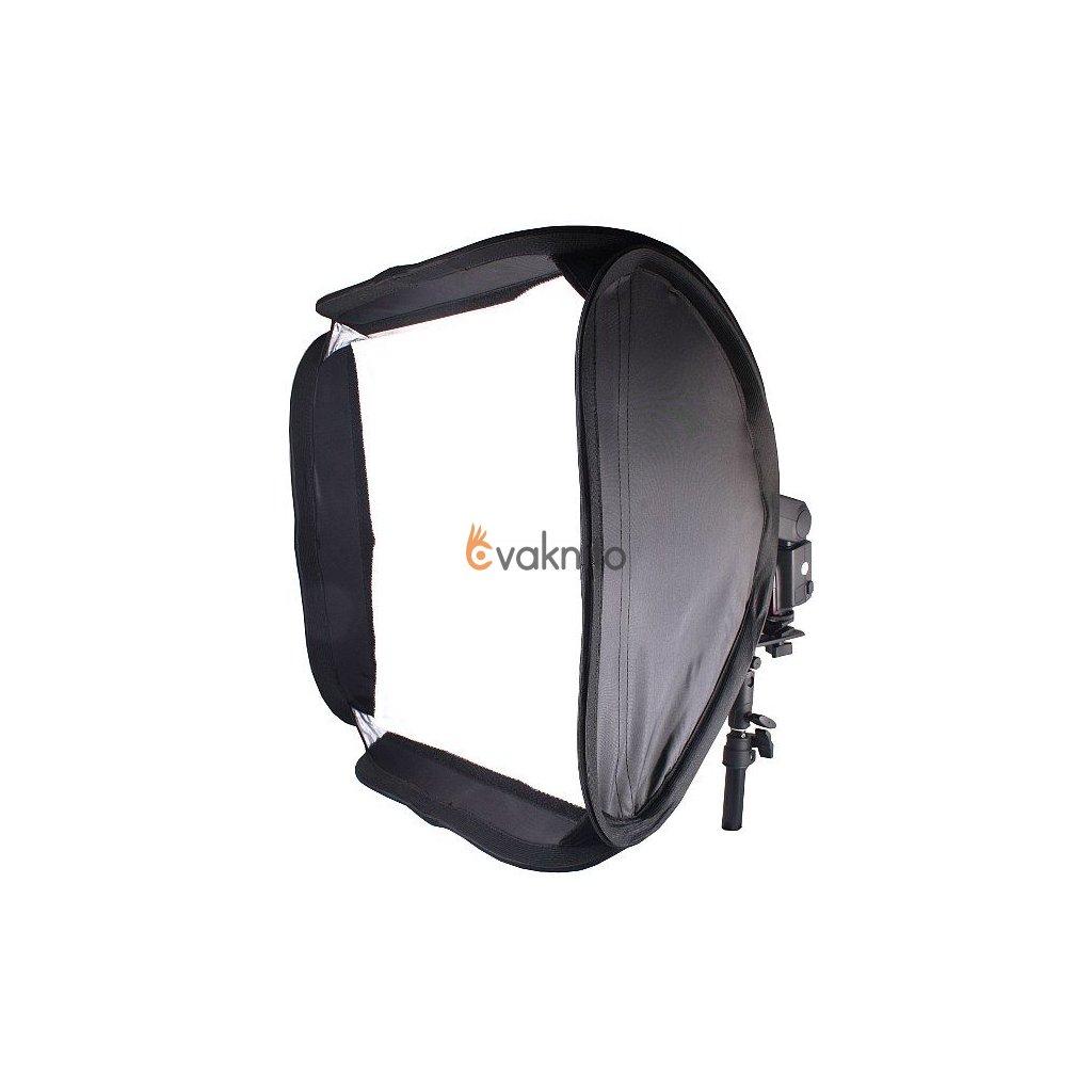 Softbox Reporter pre systémové blesky 40x40cm