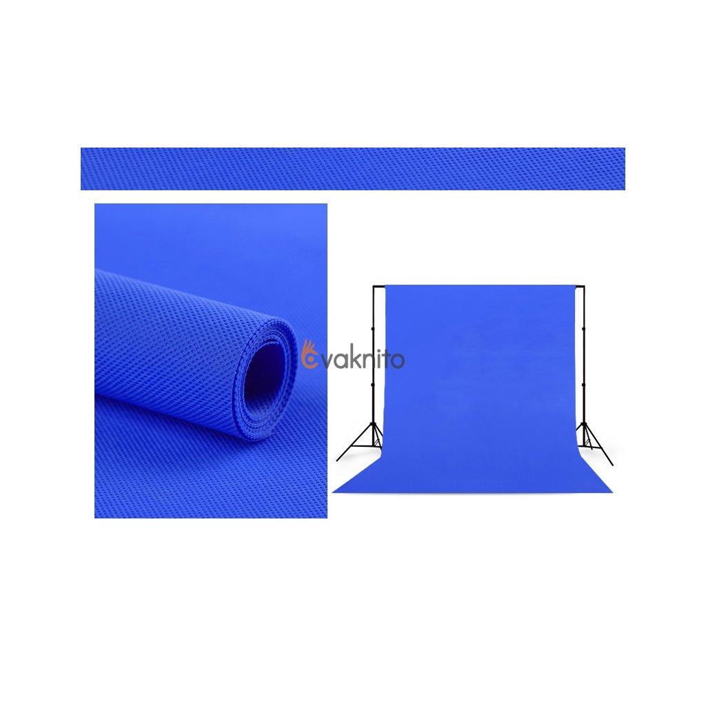 Polypropylenové pozadie 1,6 x 5m modré